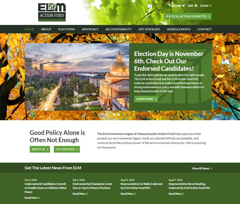 cdeVision Environmental League of Massachusetts ELM Action Fund