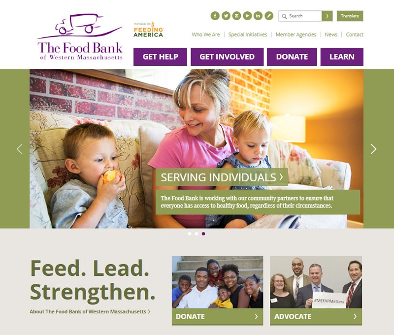 cdeVision Food Bank of Western MA