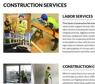 cdeVision Time Savers Construction Services