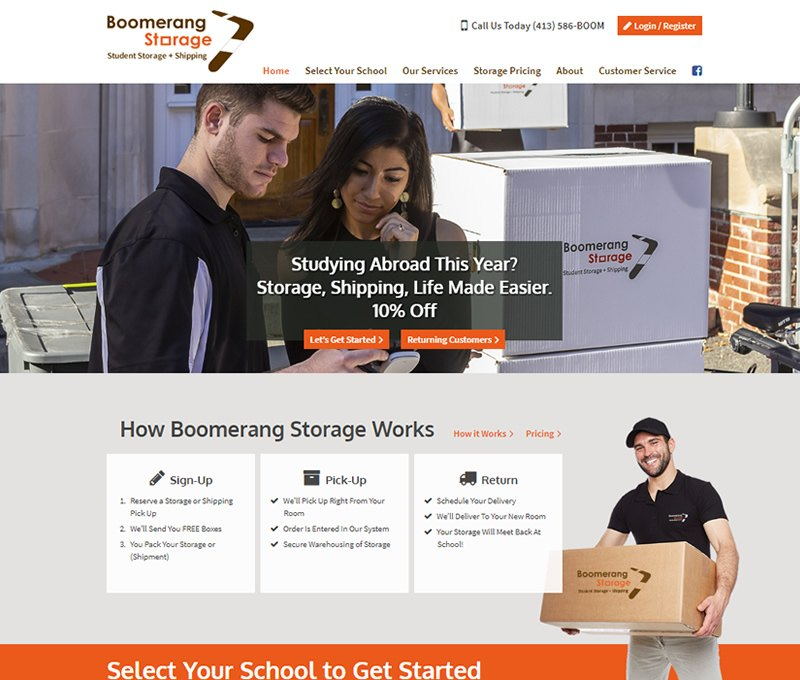 Boomerang Storage - Open Square, Holyoke MA