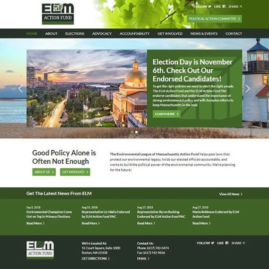 Environmental League of Massachusetts - ELM Action Fund - Boston, MA