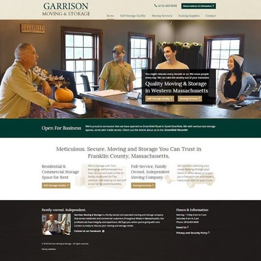 Garrison Moving and Storage - South Deerfield, MA