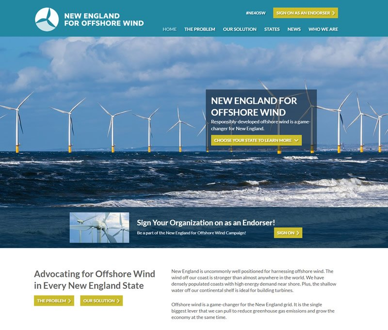 New England For Offshore Wind
