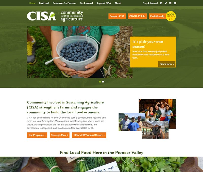 CISA home page